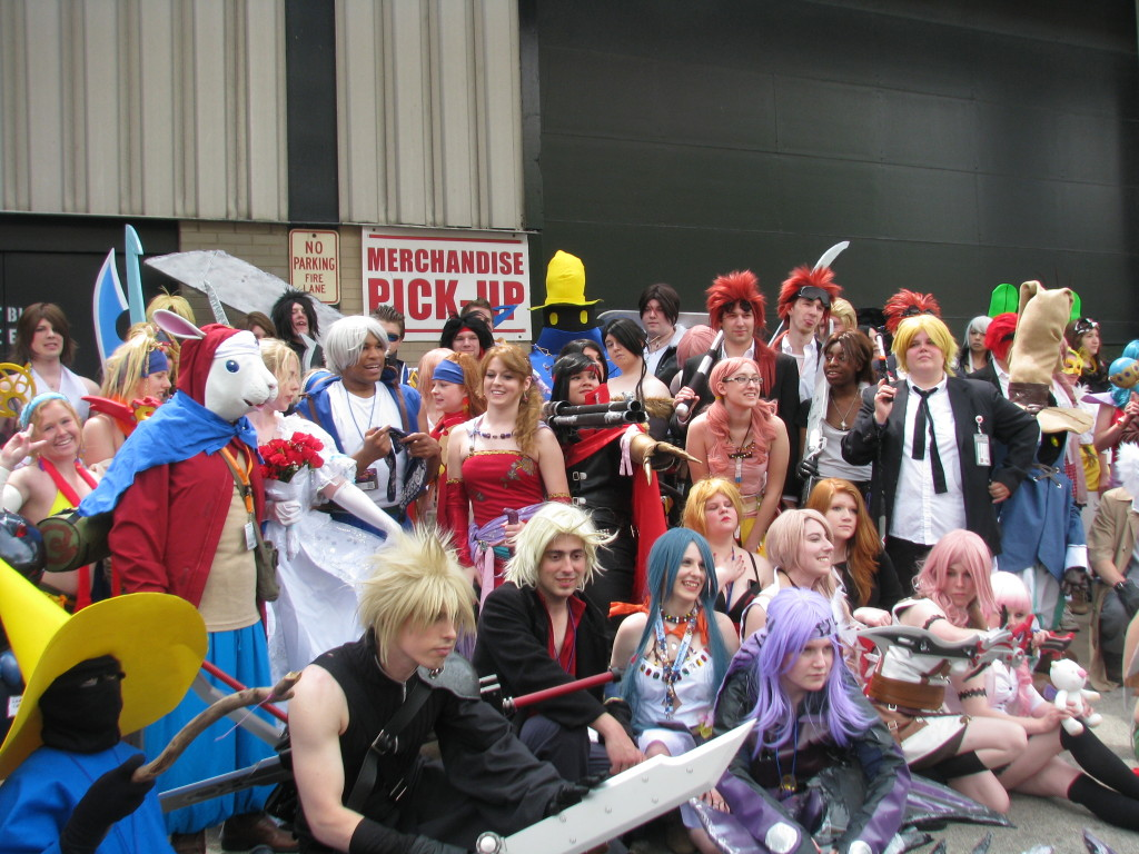 Final Fantasy Photoshoot at ACEN 2013