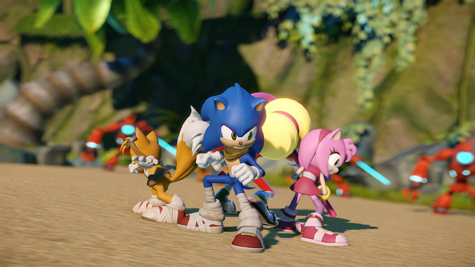 Check Out The New Sonic Game Anime Power Level